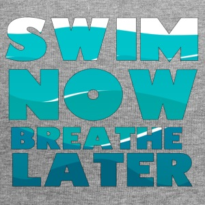 Schwimmen / Schwimmer: Swim Now, Breathe Later - Jersey-Beanie