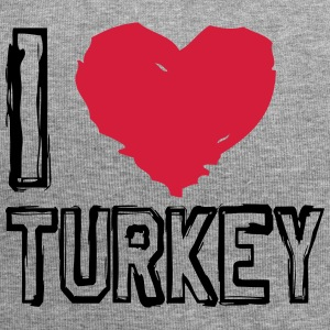 I LOVE TURKEY! - Jersey Beanie