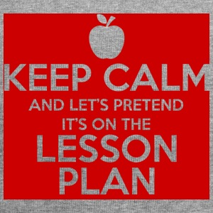 Lehrer / Schule: Keep Calm and Let´s pretend it´s - Jersey-Beanie
