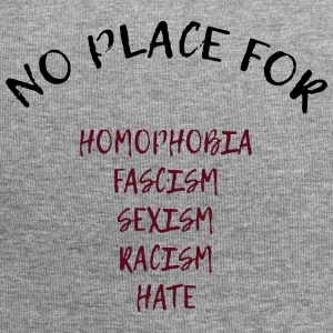 NO PLACE FOR RACISM - Jersey-Beanie