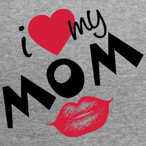 I love my Mom (vektor) your Color - Jersey-Beanie