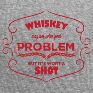 Whiskey - Whiskey may not solve your Problem... - Jersey-Beanie