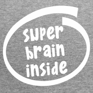 super brain inside (1846B) - Jersey-Beanie
