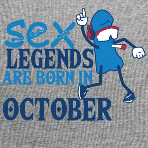 Birthday October penis sex legends born Octo - Jersey Beanie
