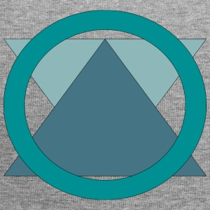 Triangle_in_Circle - Jersey-beanie