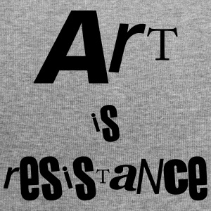 art is resistance - Bonnet en jersey