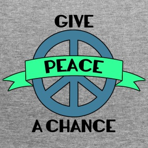Hippie / Hippies: Give Peace A Chance - Bonnet en jersey