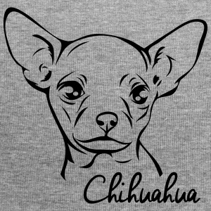Chihuahua ritratto - Beanie in jersey