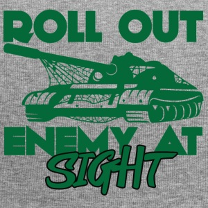Militär / Soldaten: Roll Out Enemy At Sight - Jersey-Beanie