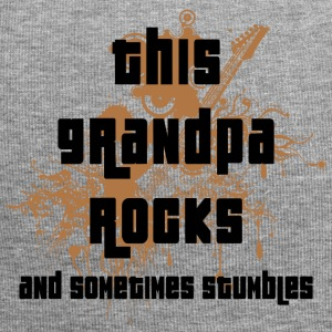 Grandpa Rocks and Stumbles - Jersey Beanie