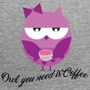 Owl you need is coffee - Jersey-Beanie