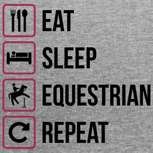 Eat Sleep Equestrian Repeat - Jersey-Beanie