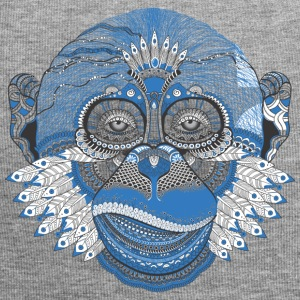 Monkey - Abstract - Jersey-beanie