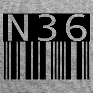 n36barcode - Beanie in jersey
