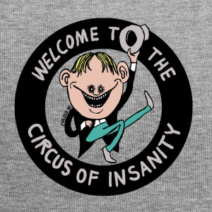 Welcome to the Circus of Insanity by Cheslo - Jersey-Beanie