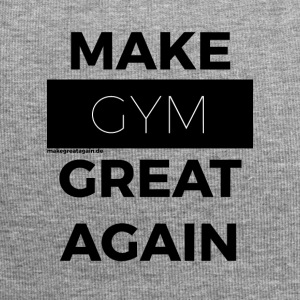 MAKE GYM GREAT AGAIN black - Jersey-Beanie