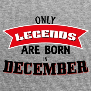 Legends Born in December - Jersey Beanie