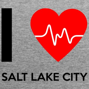 I Love Salt Lake City - I love Salt Lake City - Jersey Beanie