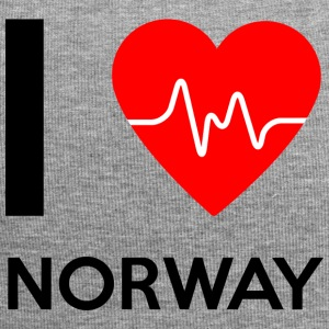 I Love Norway - I love Norway - Jersey Beanie