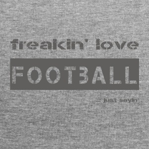 love FOOTBALL - dark T-Shirt - Jersey Beanie