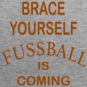 Brace Yourself Football kommer - Brown - Jersey-beanie