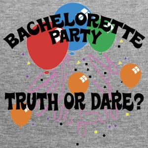Bachelorette Party Truth or Dare - Jersey Beanie