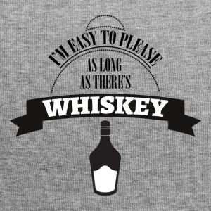 Whiskey - I'm ease to please as long ... - Jersey Beanie