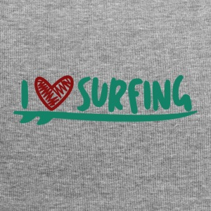 LOVE THE SURF - Jersey Beanie