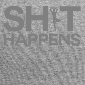 Shit Happens - Yoga - Jersey Beanie