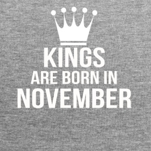 kings are born in november - Jersey-Beanie