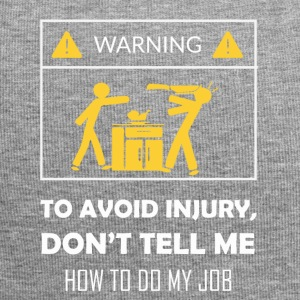 Do not tell me about my profession - Jersey Beanie
