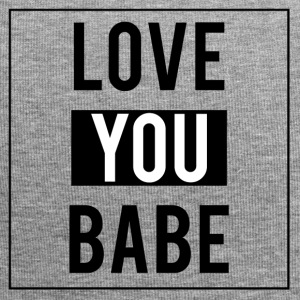 Love you babe - Bonnet en jersey