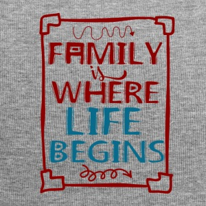 Family - My Life - Beanie in jersey