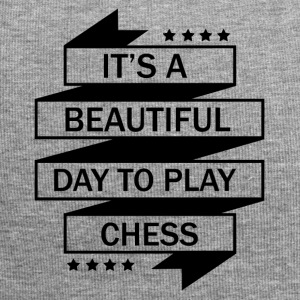 THE PERFECT DAY FOR CHESS TO PLAY! - Jersey Beanie