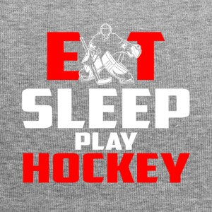 Eat, sleep, play hockey - Jersey Beanie