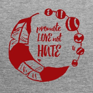 Hippie / Hippies: Promote Love not Hate - Jersey Beanie