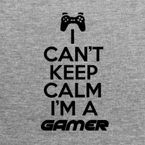 Gamers are not calm - Jersey Beanie