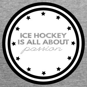 Hockey: Ice Hockey is all about passion - Jersey Beanie