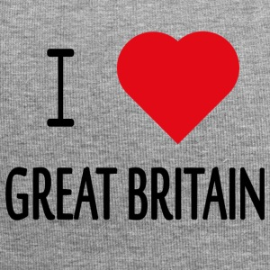 I Love Great Britain - Jersey Beanie