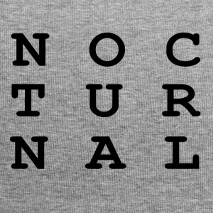 NOCTURNAL - Beanie in jersey