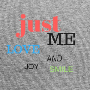 Just Me, love, joy and smile! - Jersey Beanie