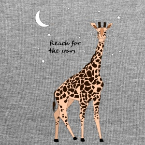 Giraffe - Reach for the stars - Jersey Beanie