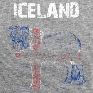 Nation-Design IJsland Paard - Jersey-Beanie