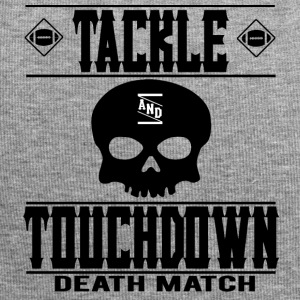 FOOTBALL TACKLE and TOUCHDOWN - DEATH MATCH - Jersey Beanie