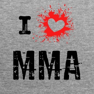 i Love MMA - Mixed Martial Arts, BJJ, Grappling r - Jersey-Beanie