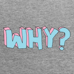 why? - Jersey-beanie