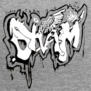 SHAM Officiel Graffiti T-Shirt Hvid - Jersey-Beanie