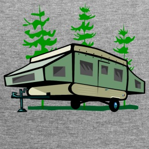 Camping Pop Up Trailer - Jersey Beanie