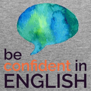 Be confident in English - Jersey Beanie