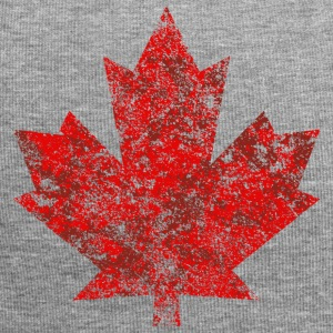 Grunge Feuille Canada Canada Maple Leaf Maple Amérique - Bonnet en jersey